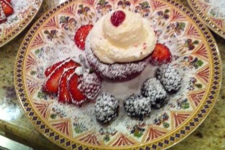 Red Velvet Cup Cakes - Professional Catering Services - Riverside CA