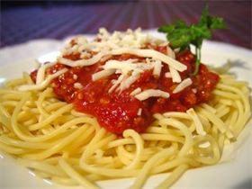 Spaghetti & Marinara | B2B Professional Catering | Riverside - Corona CA