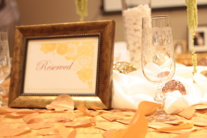 reserved shot close up